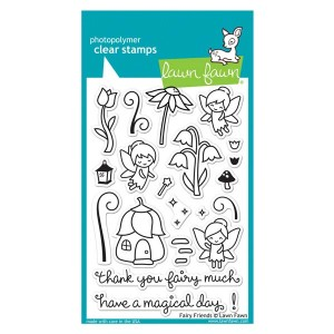 Lawn Fawn Fairy Friends Stamp Set