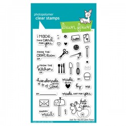 Lawn Fawn Just For You Stamp Set