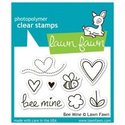 Lawn Fawn Bee Mine Stamp set