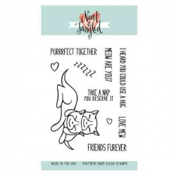 Neat & Tangled Purrfect Stamp Set