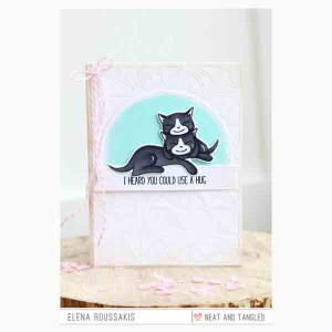Neat & Tangled Purrfect Stamp Set class=