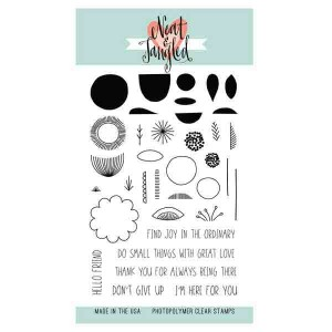 Neat & Tangled Scandinavian Prints Stamp Set