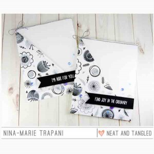Neat & Tangled Scandinavian Prints Stamp Set class=