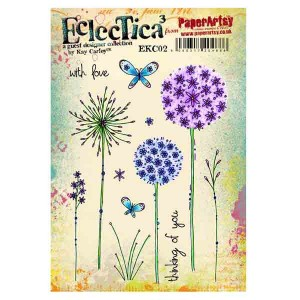 Paper Artsy Eclectica3 by Kay Carley - EKC02