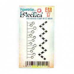 Paper Artsy Eclectica3  - EM17 Mini Stamp Set