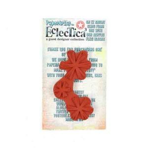 Paper Artsy Eclectica3 - EM23 Mini Stamp class=