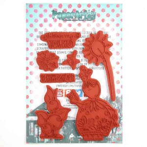 Paper Artsy JOFY 41 Stamp Set class=