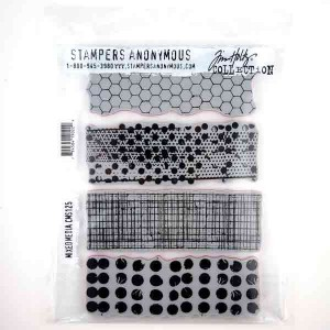 Stampers Anonymous Tim Holtz Mixed Media Stamp Set
