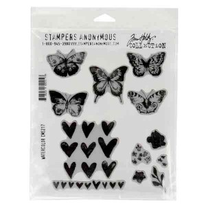 Watercolor Stamp Set by Tim Holtz