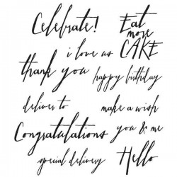 Handwritten Sentiments by Tim Holtz