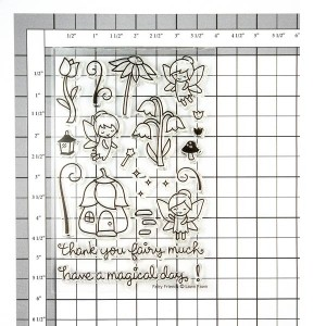 Lawn Fawn Fairy Friends Stamp Set class=