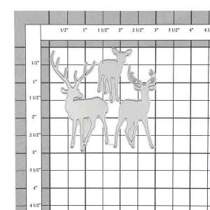 Deer Trio Die Set class=
