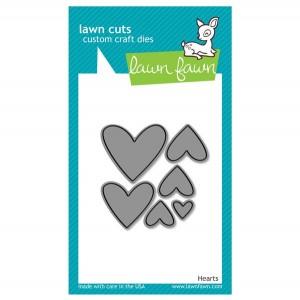 Lawn Fawn Hearts Lawn Cuts