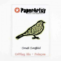 Paper Artsy Small Song Bird Die