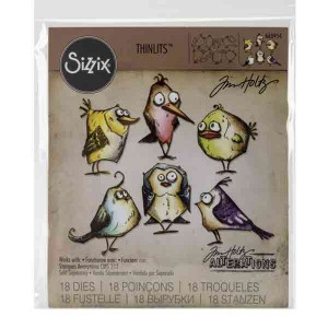 Bird Crazy Framelits by Tim Holtz