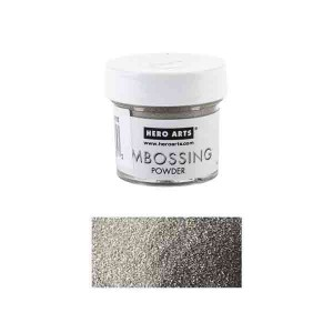 Hero Arts Platinum Embossing Powder