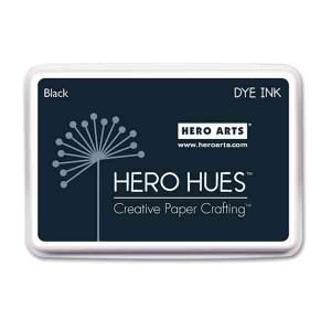 Black Hero Hues Ink Pad