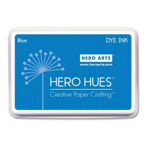 Hero Arts Blue Hero Hues Dye Ink Pad class=