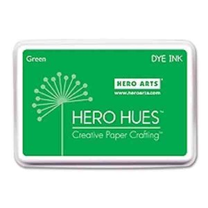 Green Hero Hues Dye Ink Pad