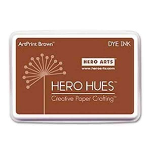 ArtPrint Brown Hero Hues Dye Ink Pad
