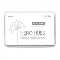 Hero Arts White Hero Hues Dye Ink Pad