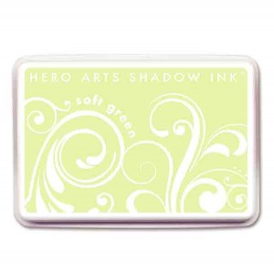 Soft Green Hero Arts Shadow  Ink Pad class=