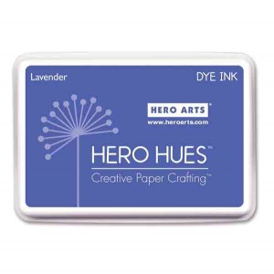 Hero Arts Lavender Hero Hues Dye Ink Pad class=