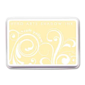 Soft Yellow Hero Arts Shadow Ink Pad