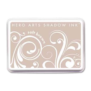 Soft Brown Hero Arts Shadow Ink Pad class=