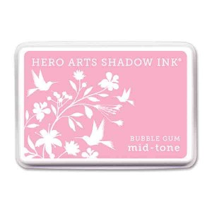 Bubble Gum Hero Arts Shadow Ink Pad, Mid-tone
