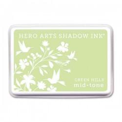 Green Hills Hero Arts Shadow Ink Pad, Mid-tone