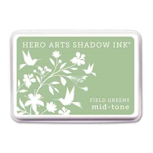Field Greens Hero Arts Shadow Ink Pad, Mid-tone class=