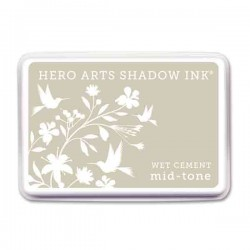 Wet Cement Hero Arts Shadow Ink Pad, Mid-tone