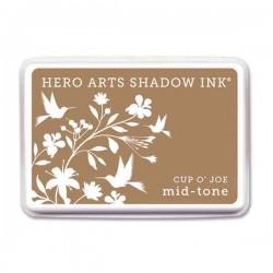 Cup O' Joe Hero Arts Shadow Ink Pad, Mid-tone