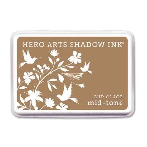 Cup O' Joe Hero Arts Shadow Ink Pad, Mid-tone class=