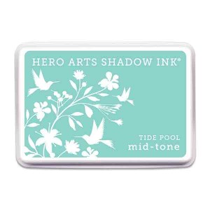 Tide Pool Hero Arts Shadow Ink Pad, Mid-tone
