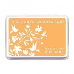 Orange Soda Hero Arts Shadow Ink Pad, Mid-tone