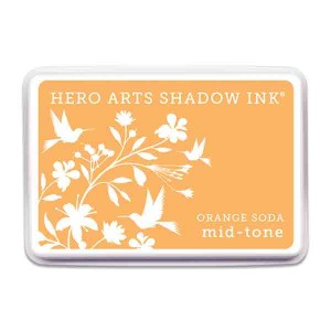 Orange Soda Hero Arts Shadow Ink Pad, Mid-tone class=