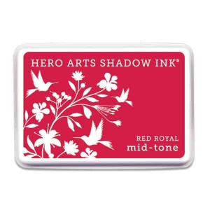 Red Royal Hero Arts Shadow Ink Pad, Mid-tone