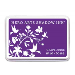 Grape Juice Hero Arts Shadow Ink Pad, Mid-tone class=