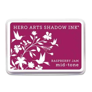 Raspberry Jam Hero Arts Shadow Ink Pad, Mid-tone