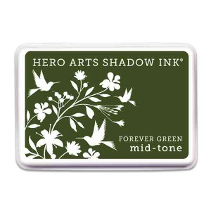 Forever Green Hero Arts Shadow Ink Pad, Mid-tone class=