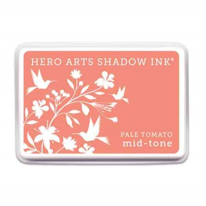 Pale Tomato Shadow Ink Pad, Mid-tone