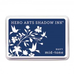 Navy Hero Arts Shadow Ink Pad, Mid-tone