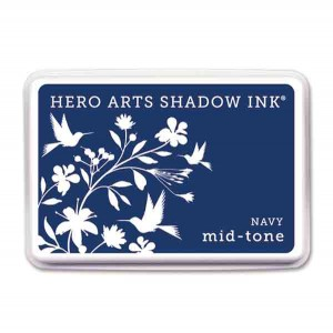 Navy Hero Arts Shadow Ink Pad, Mid-tone class=
