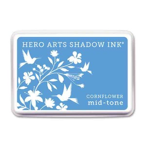 Cornflower Hero Arts Shadow Ink Pad, Mid-tone