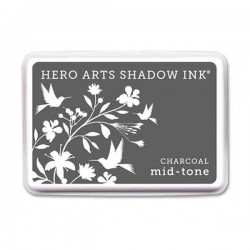Charcoal Hero Arts Shadow Ink Pad. Mid-tone