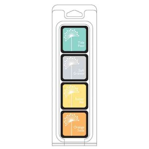 Hero Arts Summer Splash Ink Cubes, 4 pack cubes