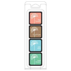 Hero Arts Quiet Morning Ink Cubes, 4 pack cubes class=