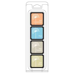 Just Beachy Ink Cubes, 4 pack cubes